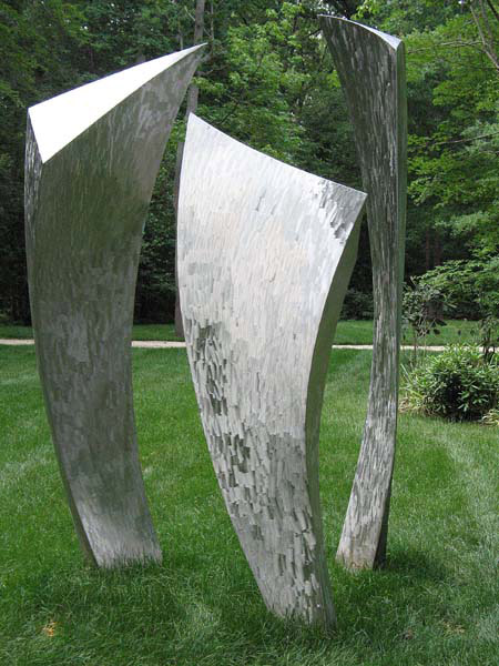 Back View of Sculpture