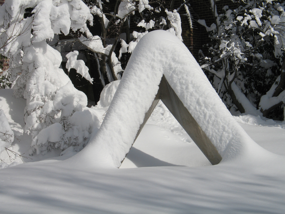 Sculpture in Winter