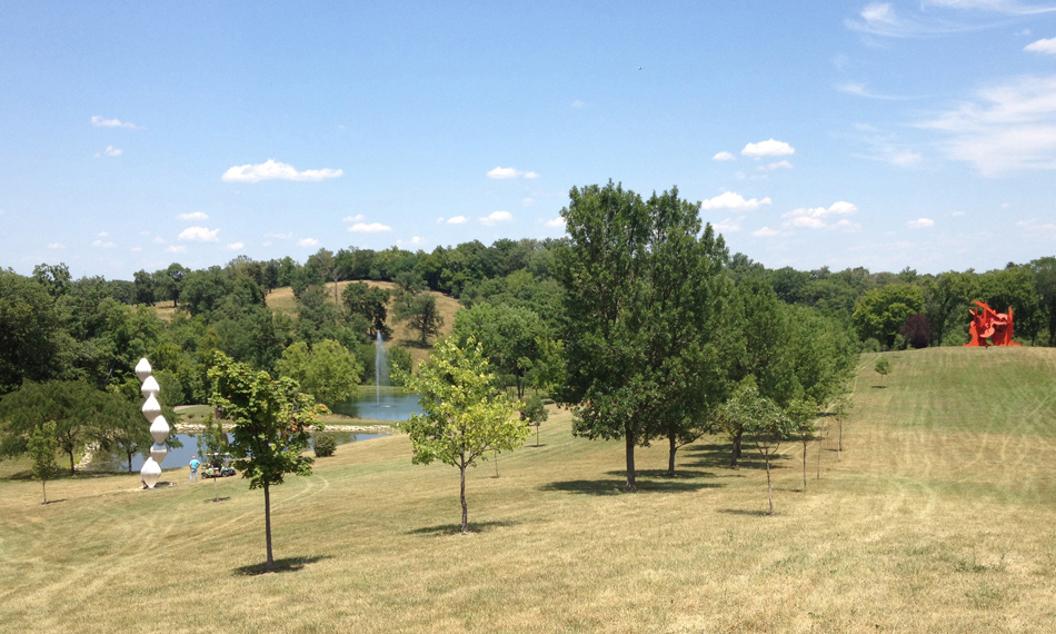 View at Pyramid Hill Sculpture Park
