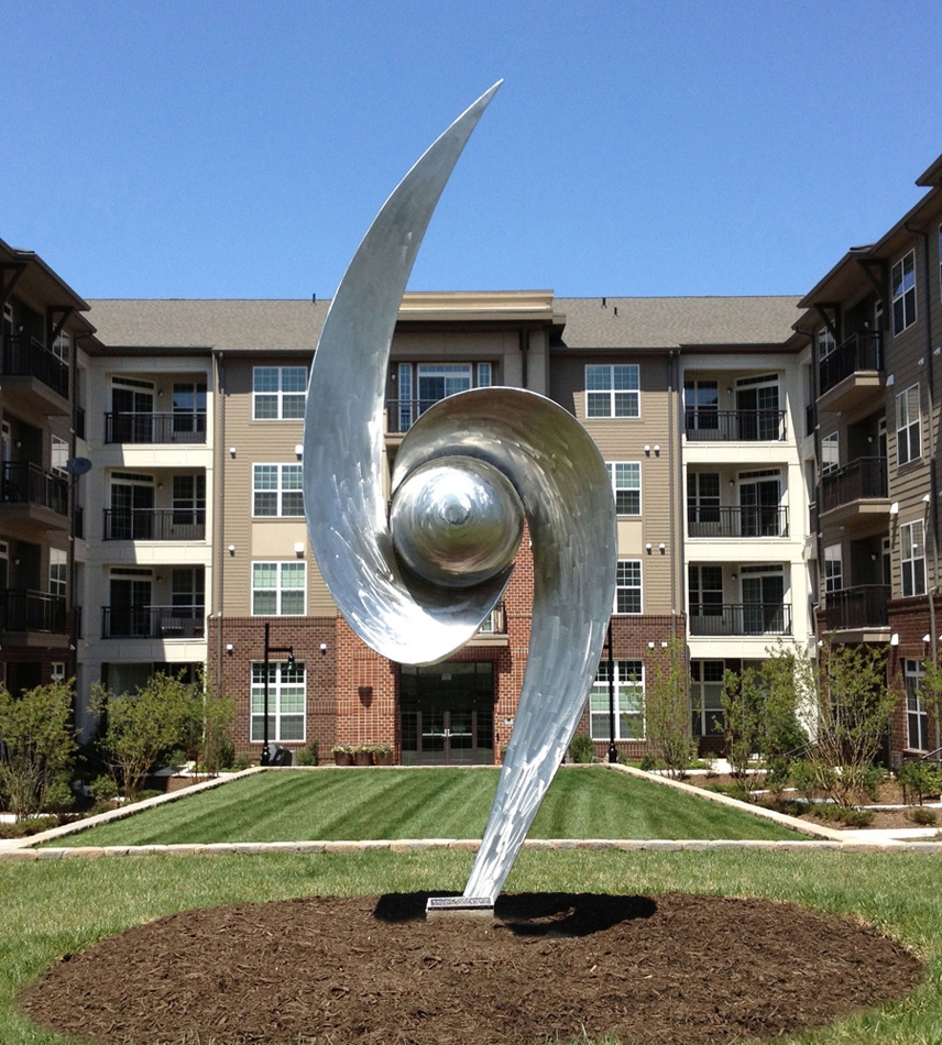 Sculpture at Hidden Creek