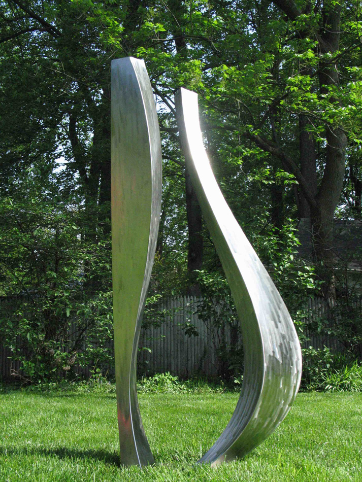 Side View of Sculpture