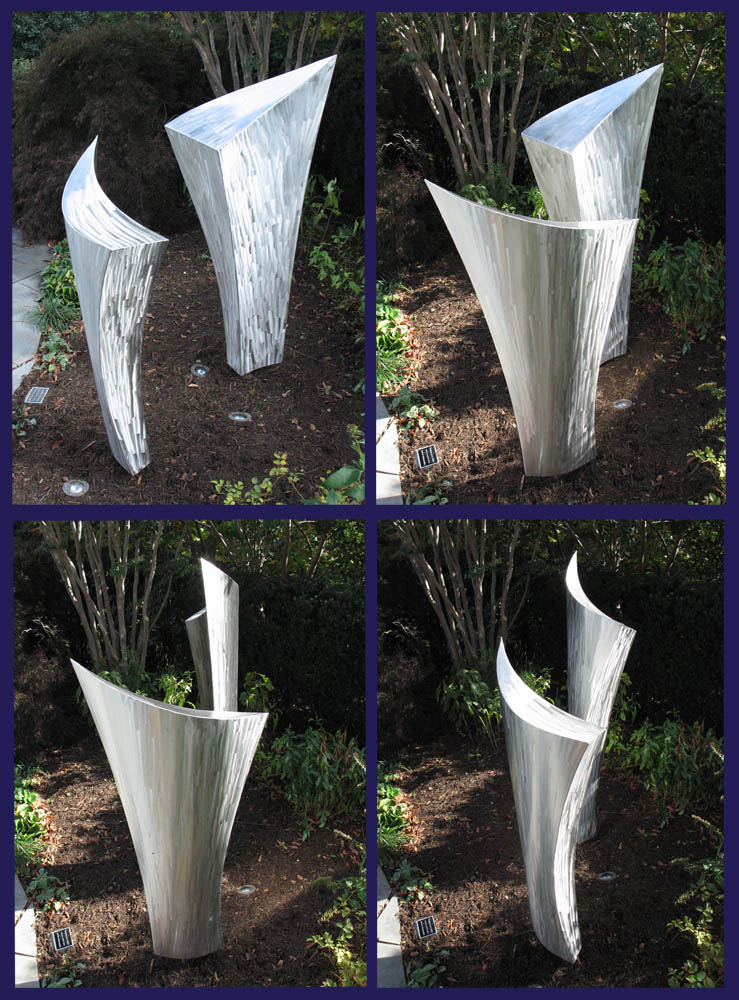 Time Sequence of Sculpture
