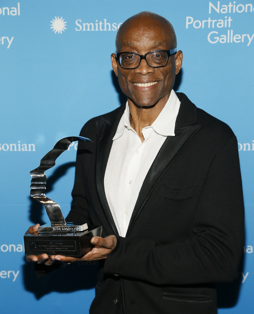 Bill T Jones with Prize, 2017