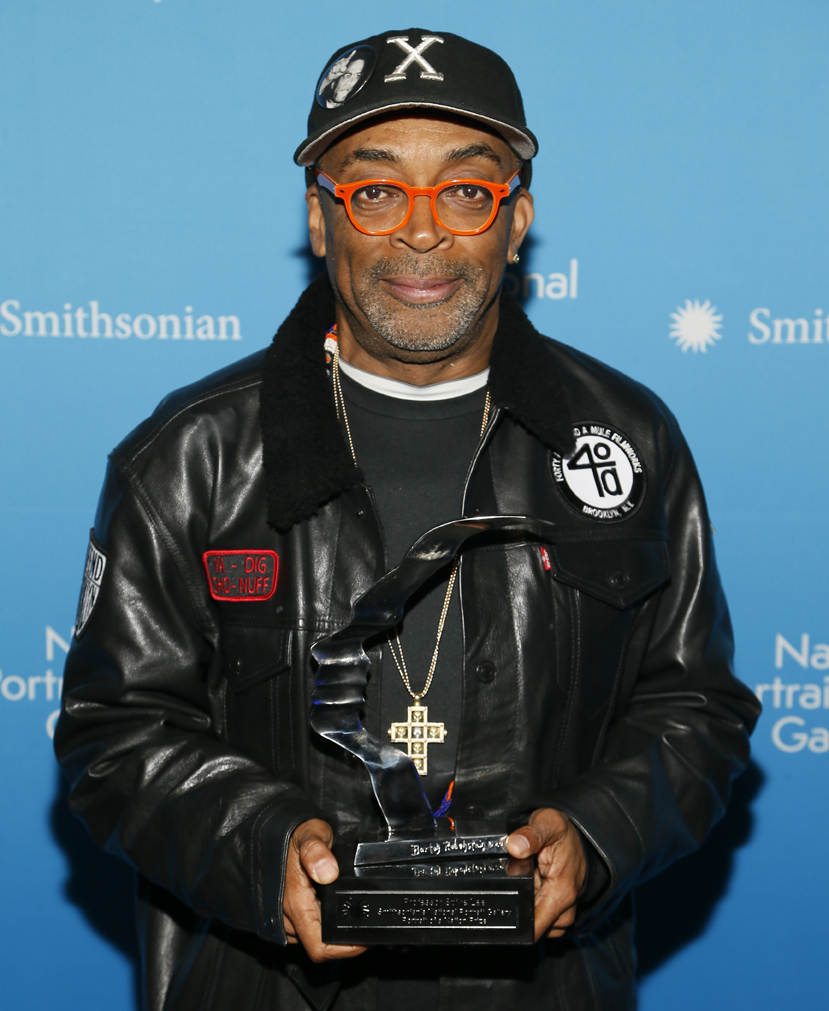 Spike Lee with Prize, 2017